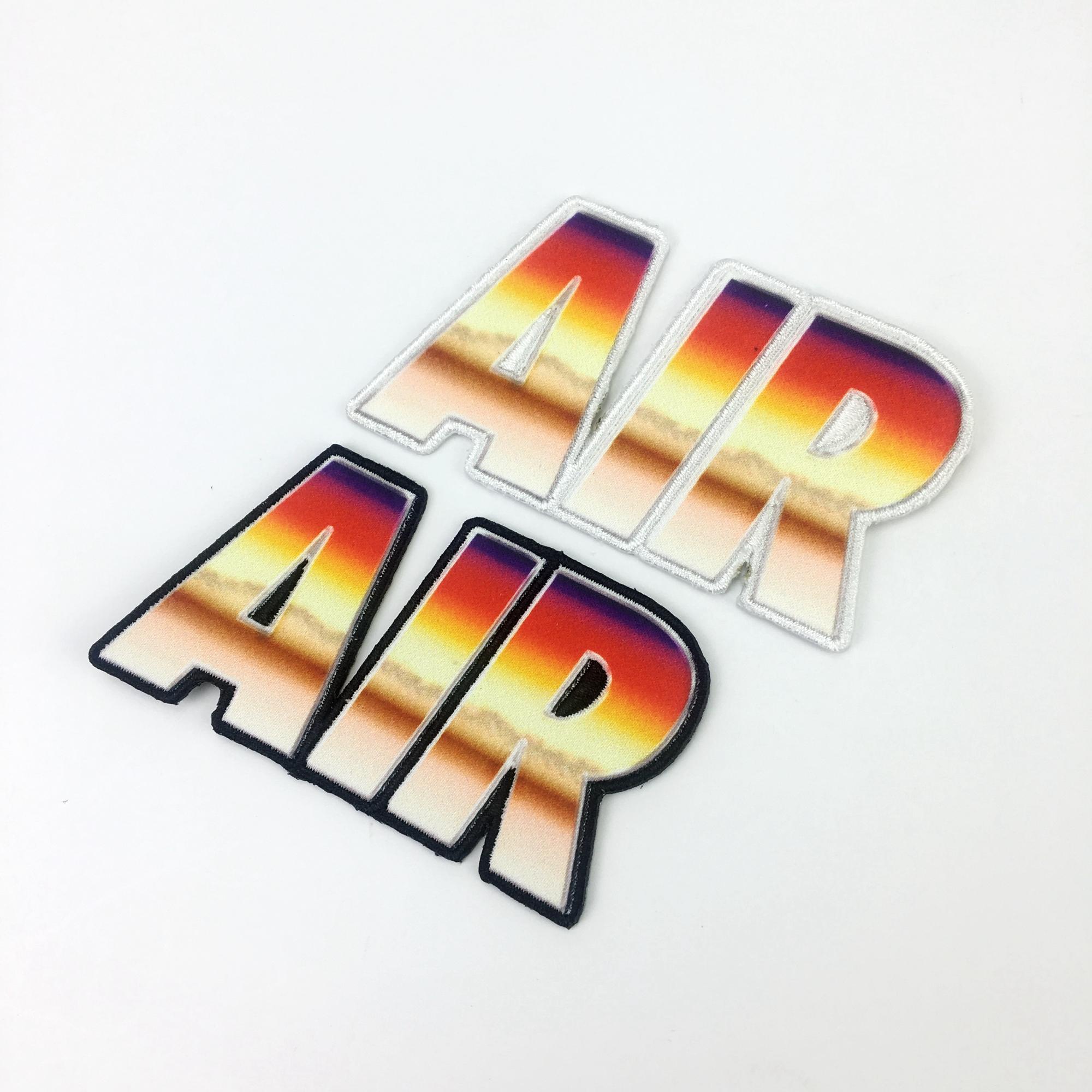 Custom Sublimation Heat Transfer Patch Promotional