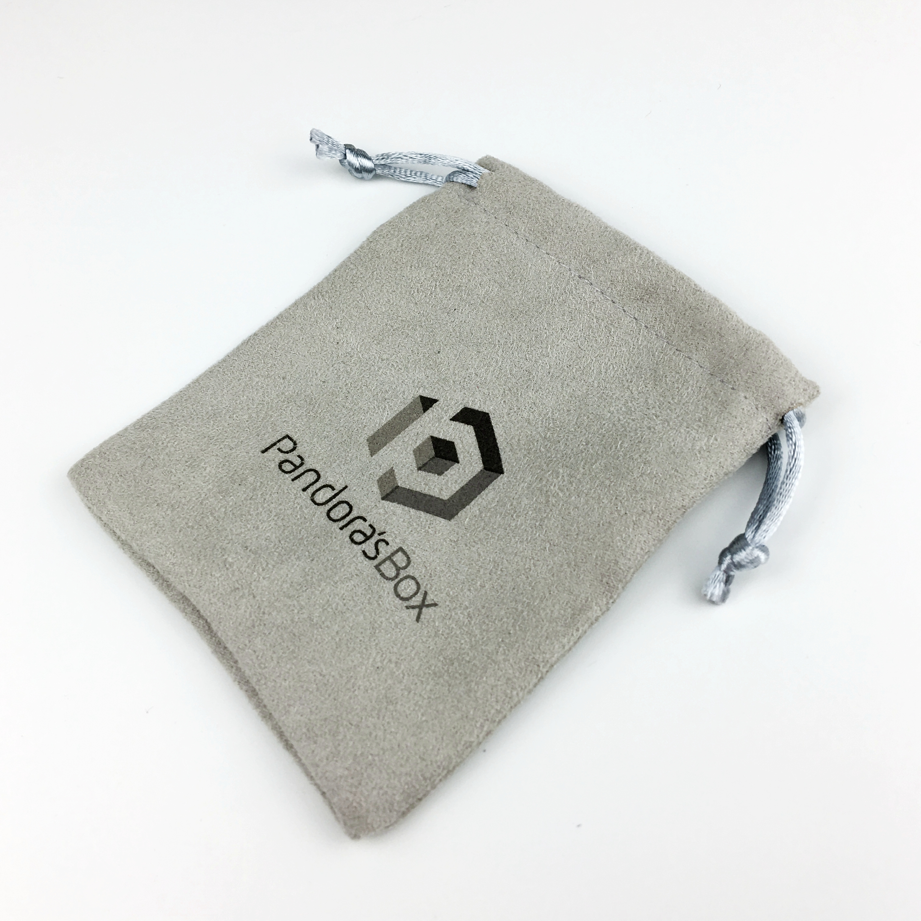 Small / large Faux suede bag wholesale with custom logo