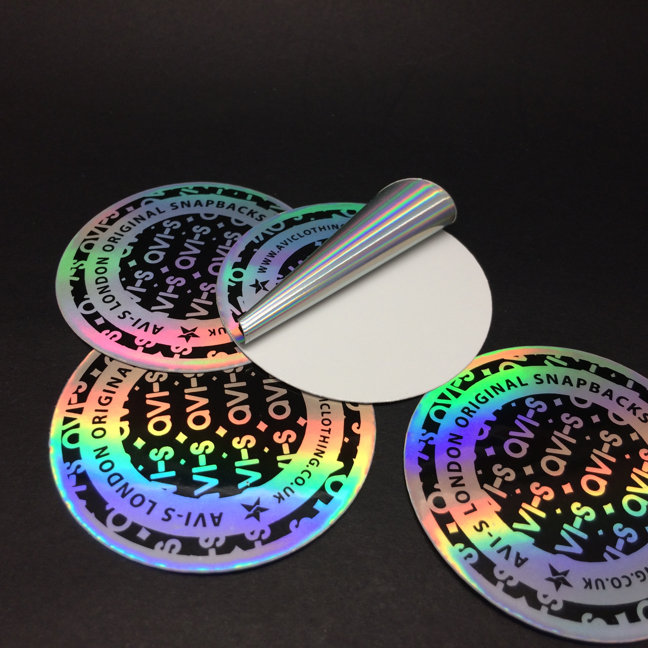 3D Laser Label Hologram Printer With Self Adhesive Holographic Sticker