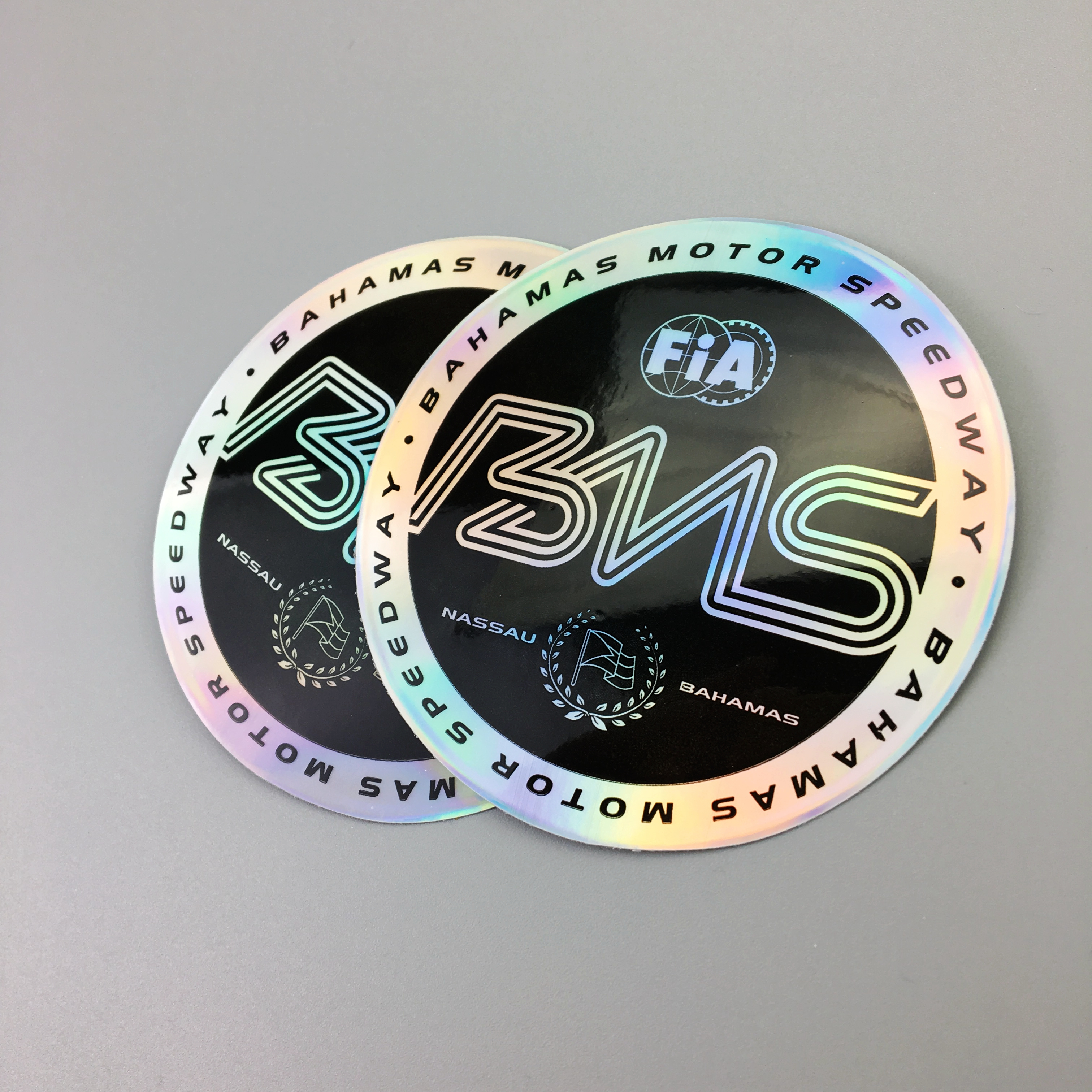 High quality custom hologram sticker with custom logo