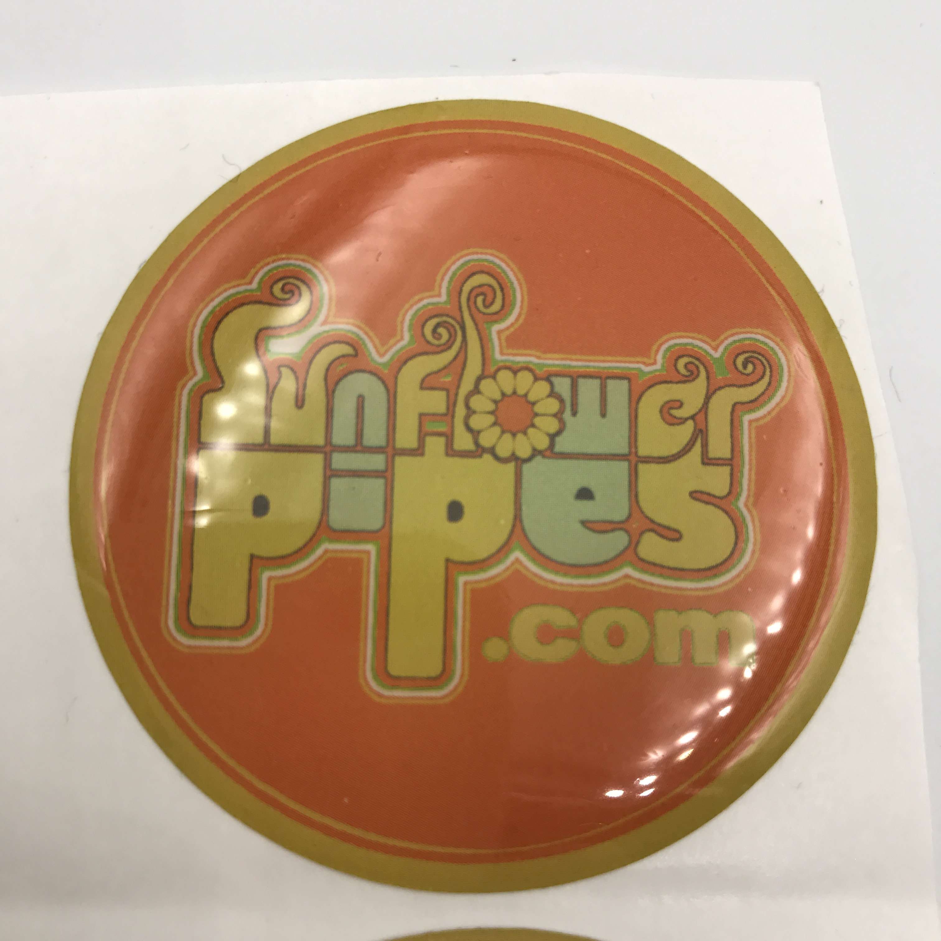 High Quality Custom Logo 3D Clear Epoxy Stickers