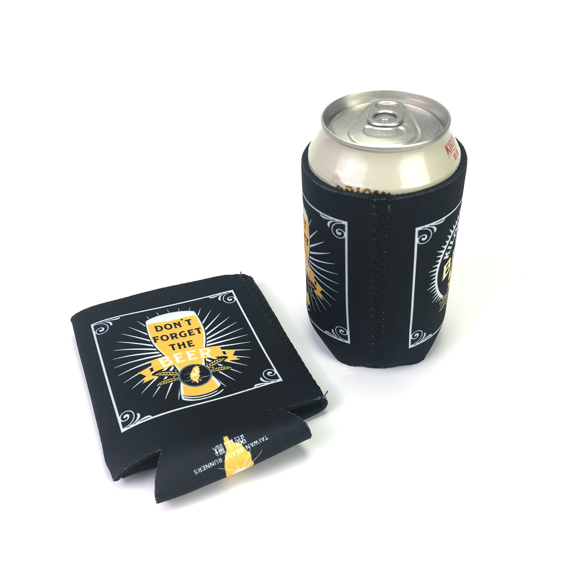 Selling fashion promotional custom beer cooler sleeve can holder