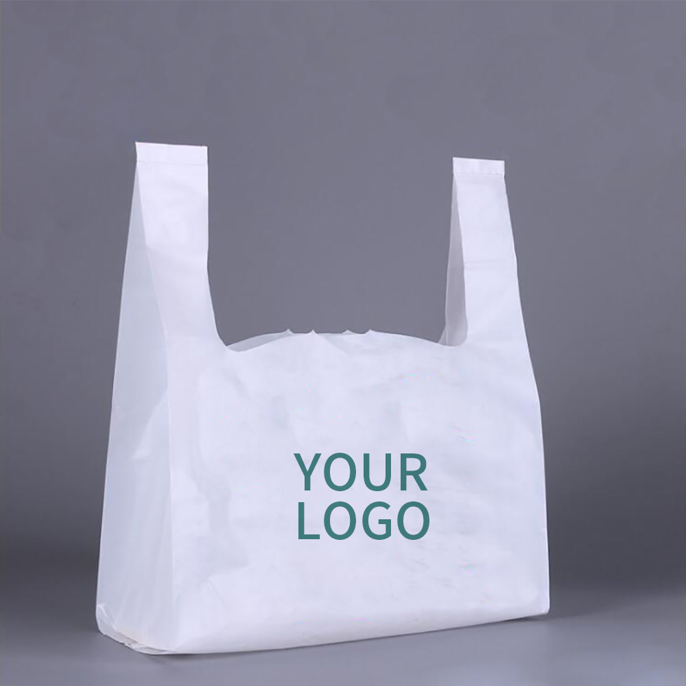 Custom thank you bags, T-shirt bags