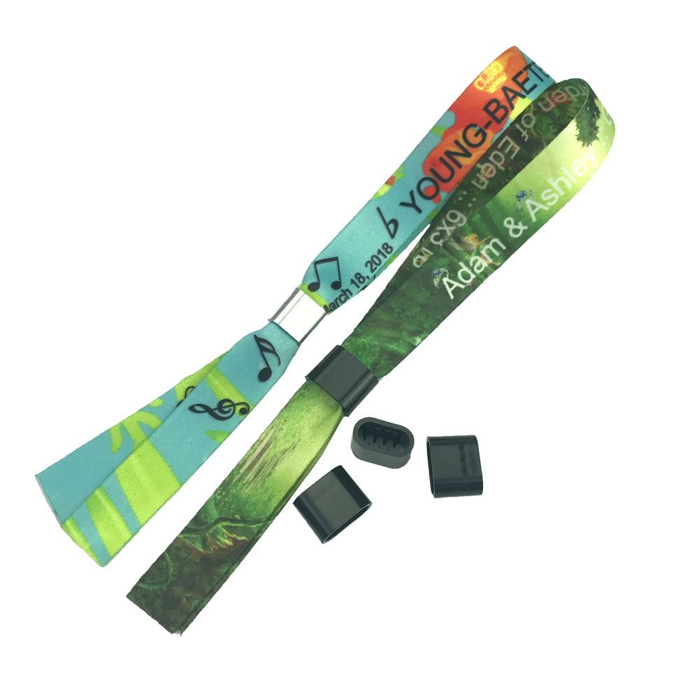 Personalized promotional gifts cheap printable wristbands event