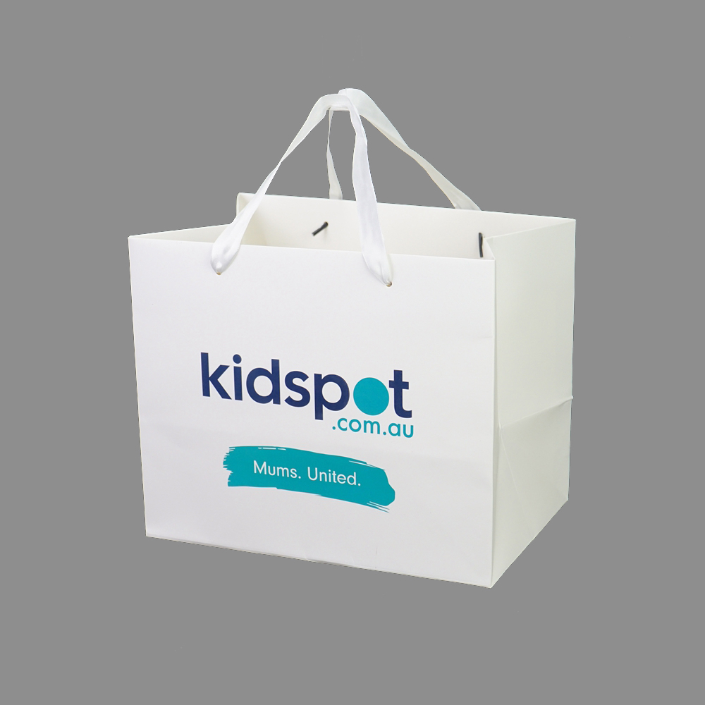 Hot sales lower price custom printed gift paper bag