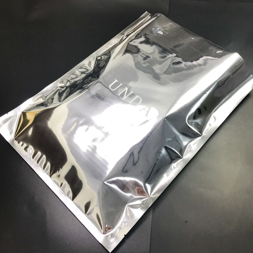 Custom heat sealable foil bags with custom logo for food