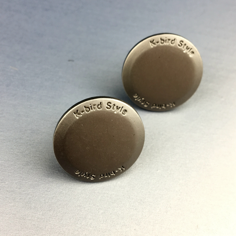 Jeans Accessories Custom Size Free Sample Metal Snap Buttons for Clothes