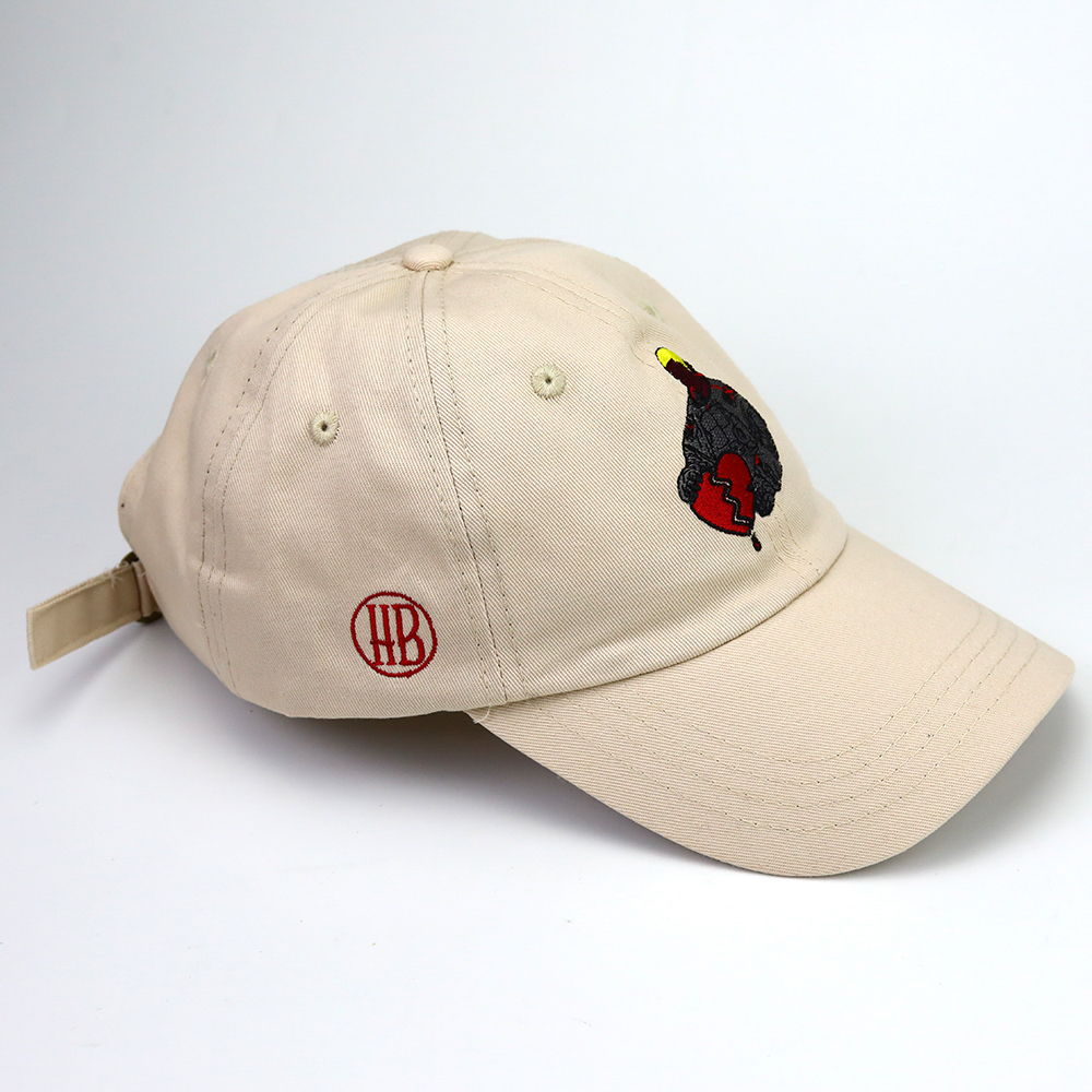 Customizing different logo embroidery 6 panel dad hat OEM cotton high quality dad cap
