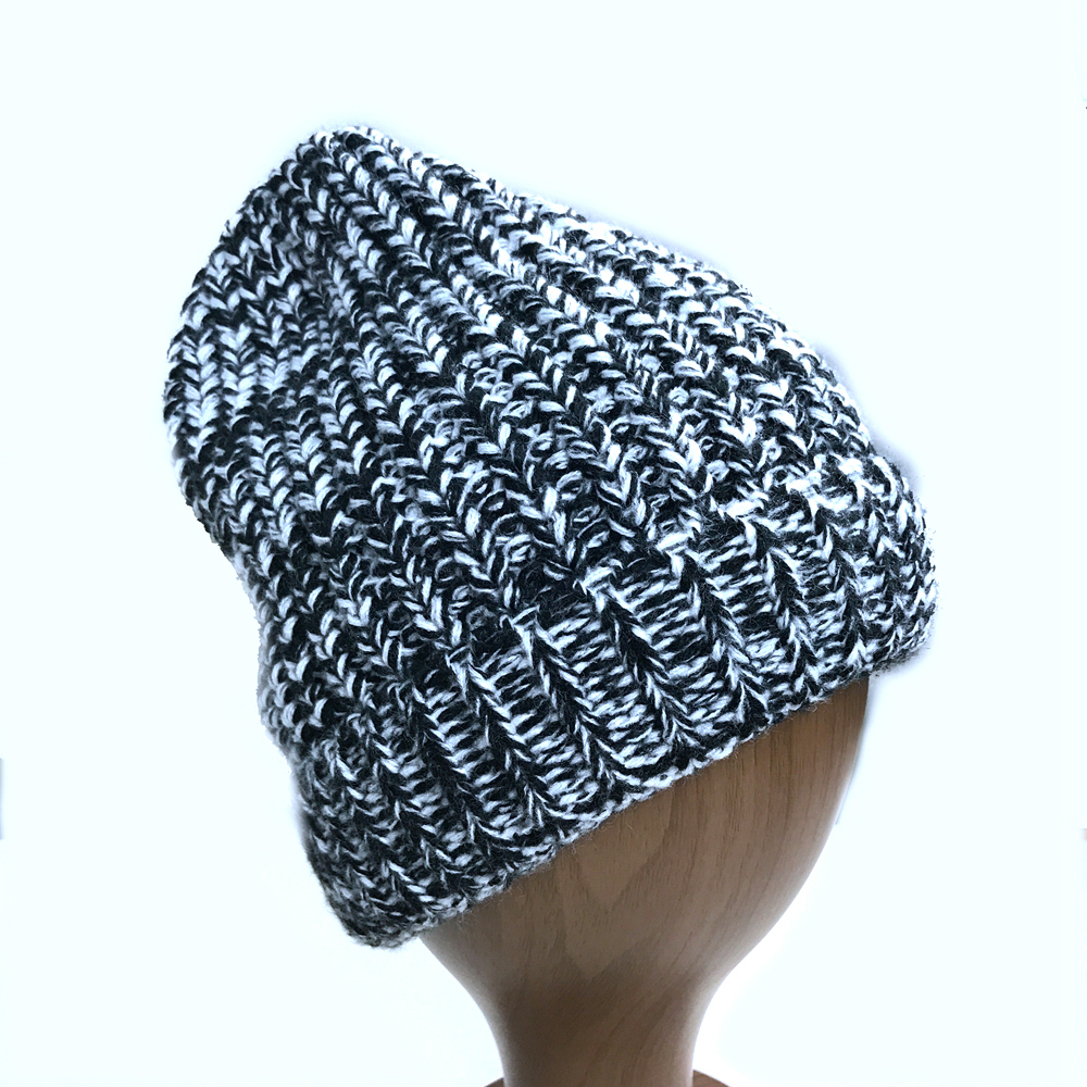 Warm Soft Winter Knitted Trendy Short Skully Hat Cap with Wireless Headphone Headset
