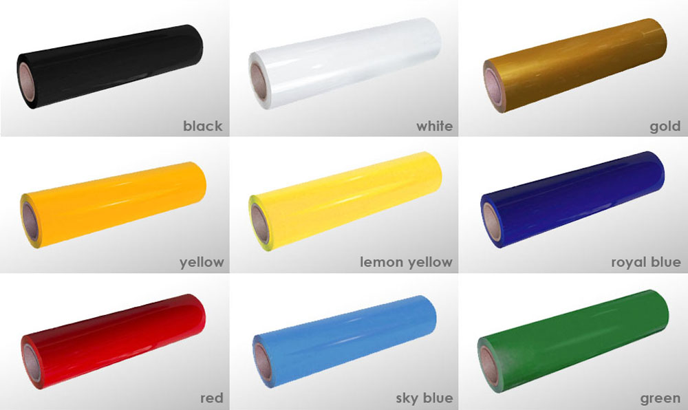 Large Promotion Quality PU Heat Transfer Vinyl Roll for clothing