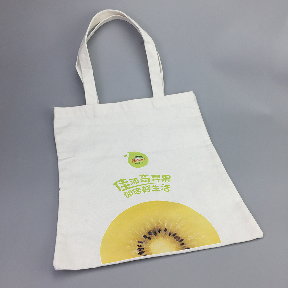 Custom organic cloth printed tote bag with logo
