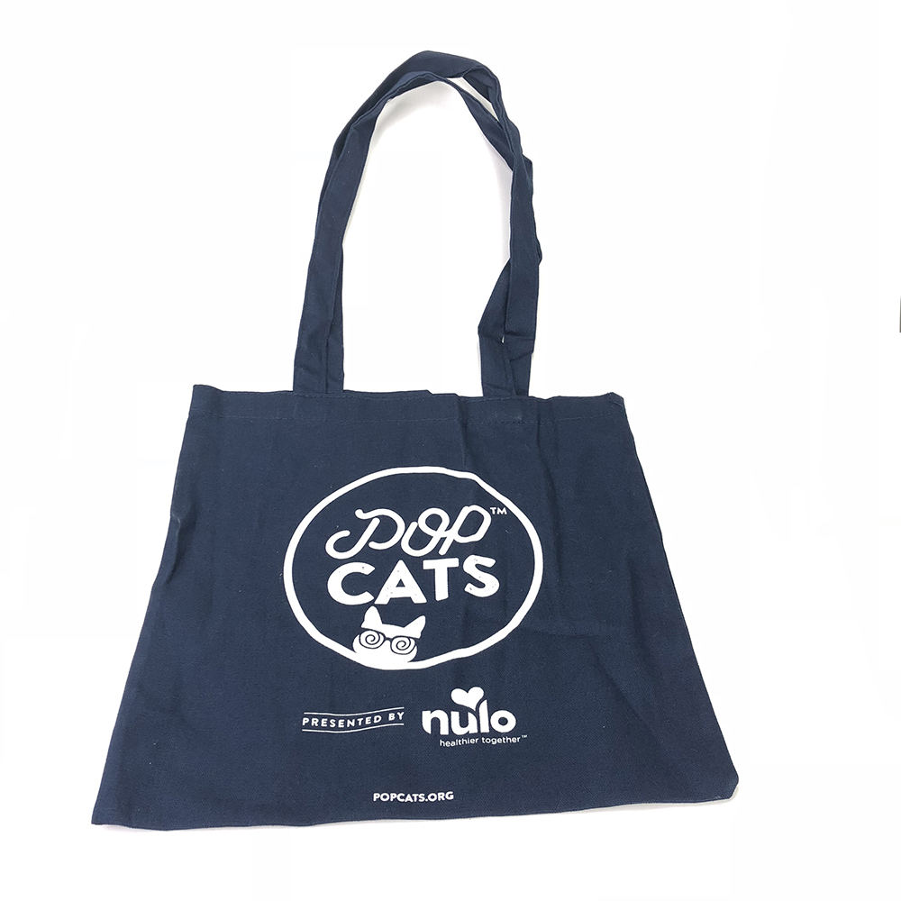 Top quality custom cotton drawstring tote bag