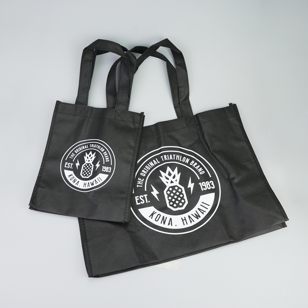 Wholesale custom printing logo non-woven bag shopping bag