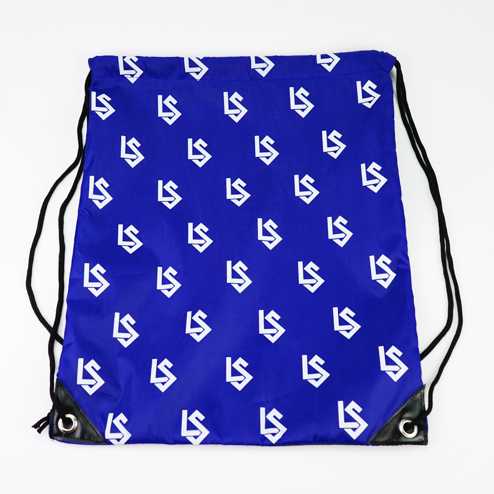 Hot Sale Custom CutePolyester Drawstring Backpack Bags for Kids Girls and Boys