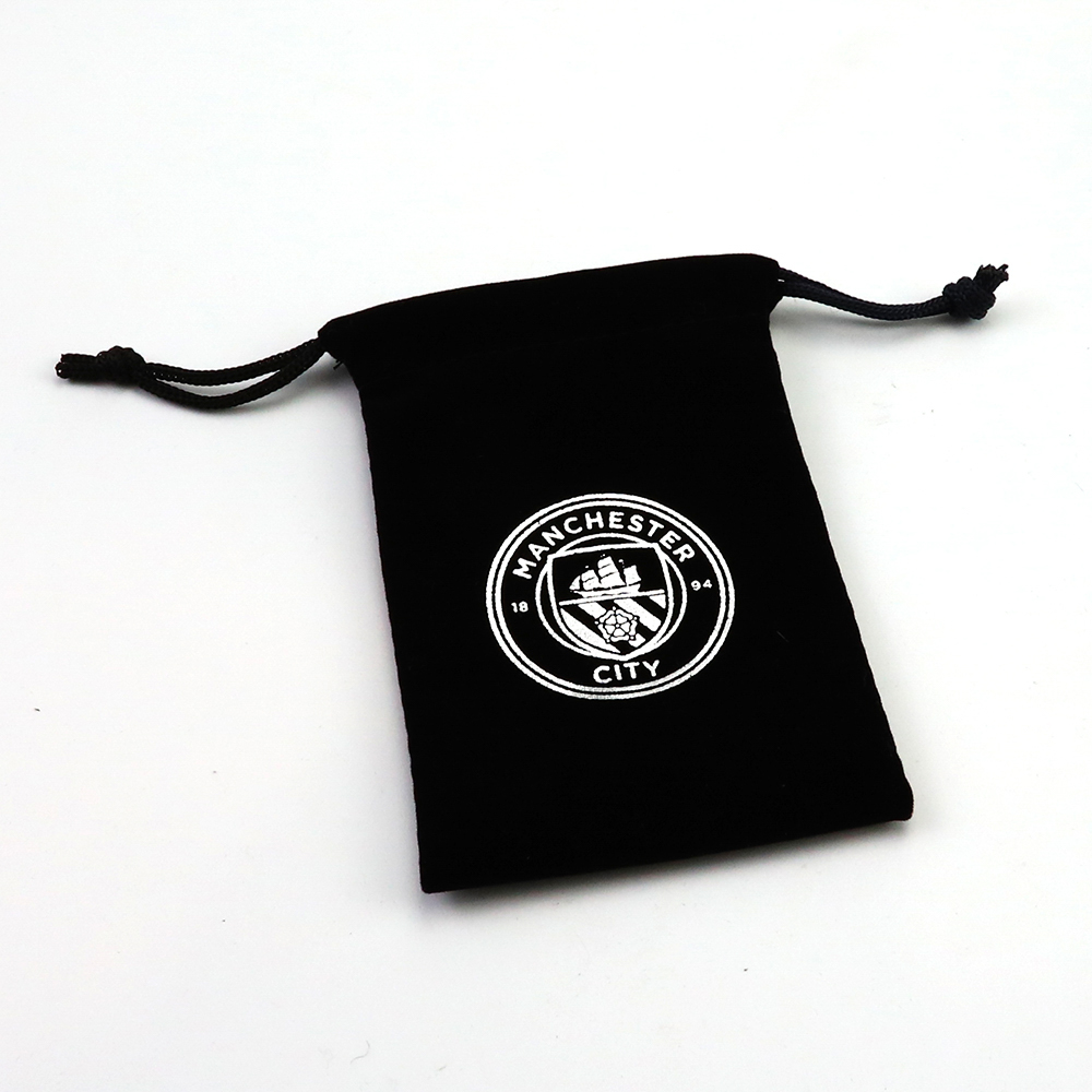 Small  Large velvet drawstring gift bag wholesale with custom logo