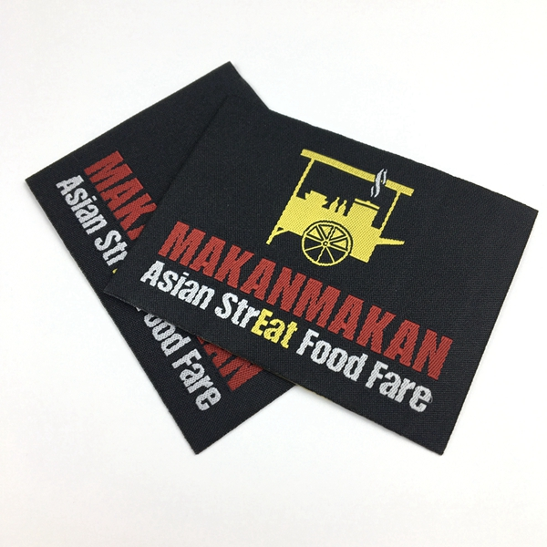 Custom high quality t-shirt heat transfer silicone printing label