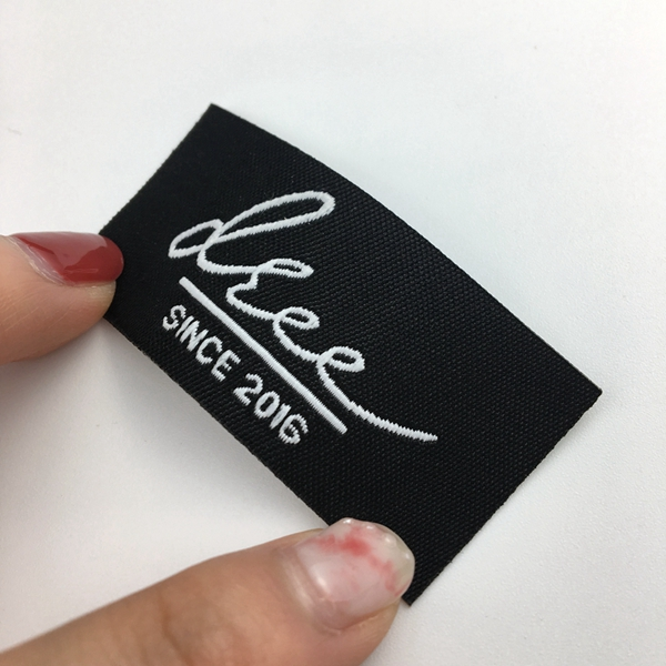 Custom logo iron on mattress label