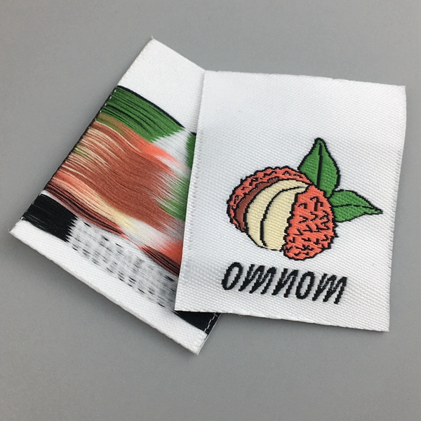 custom woven edge woven labels