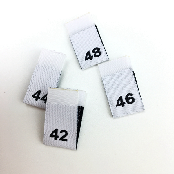 High quality custom woven edge woven labels