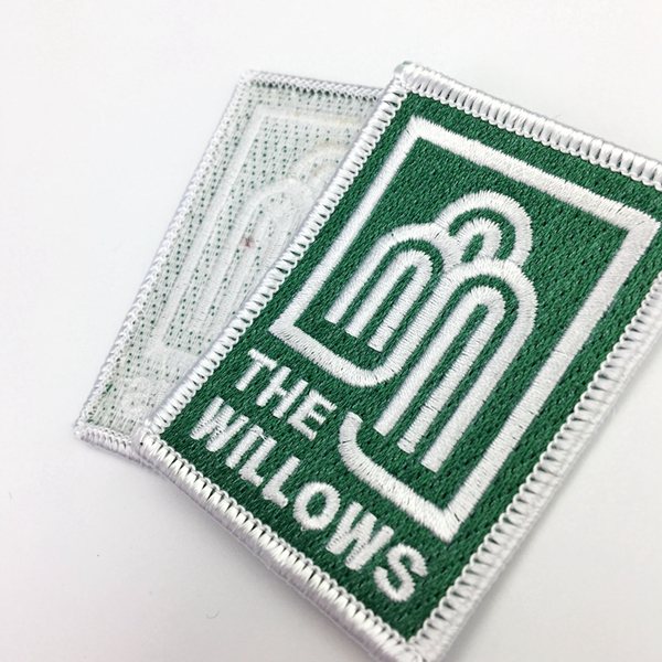 Direct factory sale OEM high quality cheaper Hot sale Embroidery Patch For Clothes
