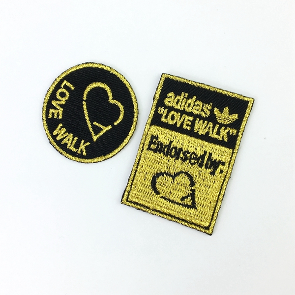 Custom embroidery patch for clothing shoulder and uniform