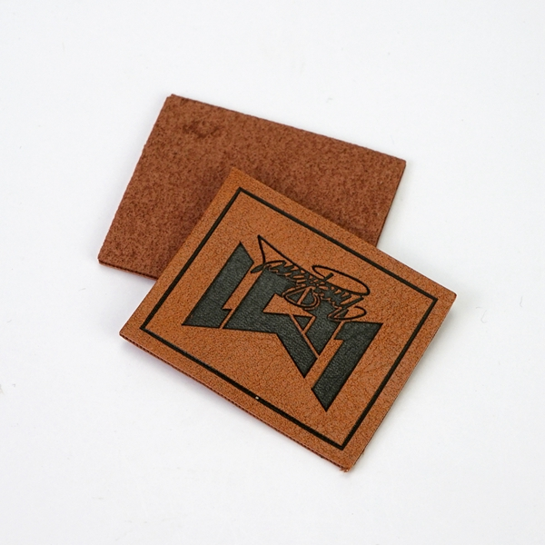 Custom leather patch