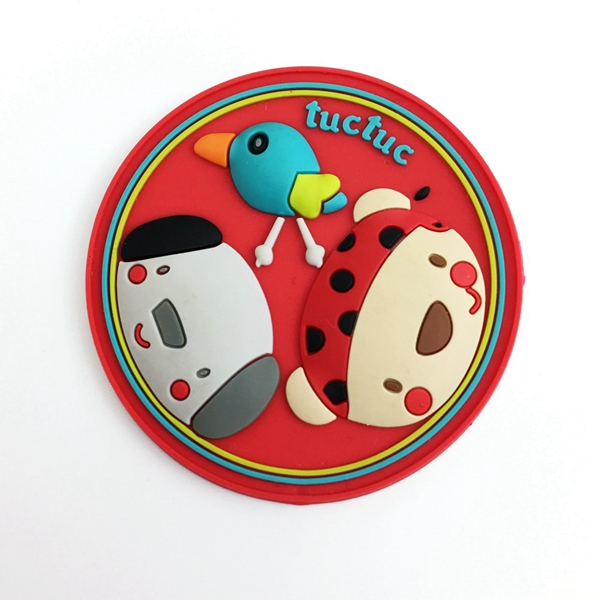 Custom Brand Name Logo 3d Soft Pvc Label Rubber Patch