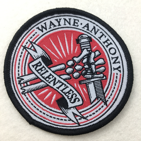 Factory Latest Custom Woven Garment patch for clothing and hats